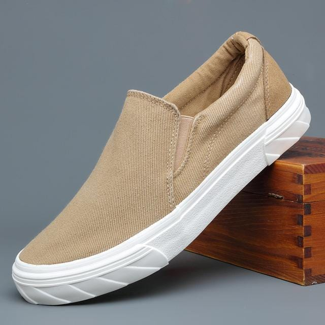 Lightweight canvas casual loafers