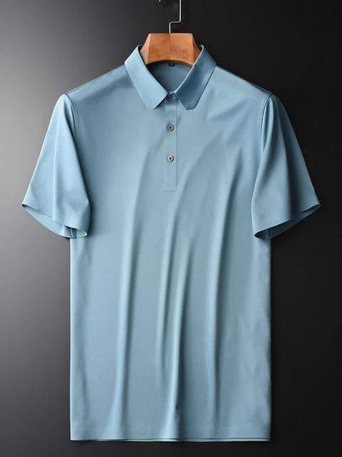 topman topgoldman boss luxury elegant polo shirts-BLUE HTZ20037-XXXL