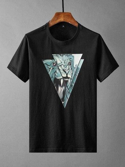 topman topgoldman boss luxury elegant t-shirts for men-BLACK-4XL