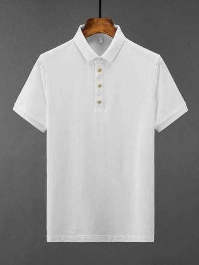 topman topgoldman boss luxury elegant t-shirts for men-WHITE-XL