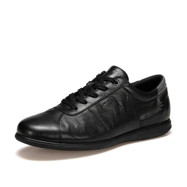 topman topgoldman boss luxury elegant casual shoes-Black-42