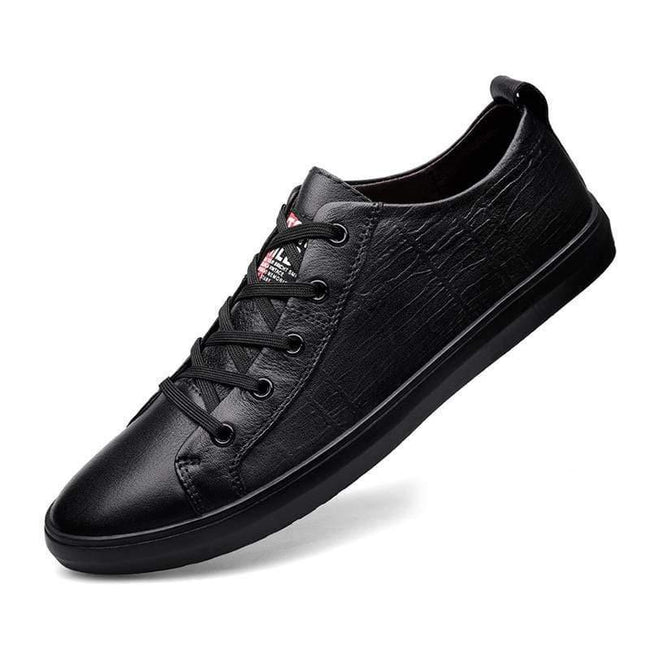 topman topgoldman boss luxury elegant casual shoes-Black-45