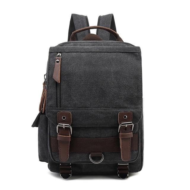 top goldman Treviso Canvas Backpack black