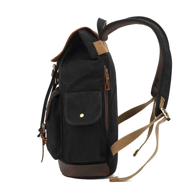 top goldman Treviso Canvas Backpack gray
