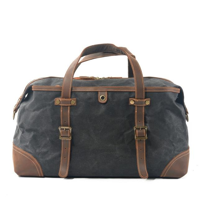 top goldman Veneto Gym Travel Bag Black