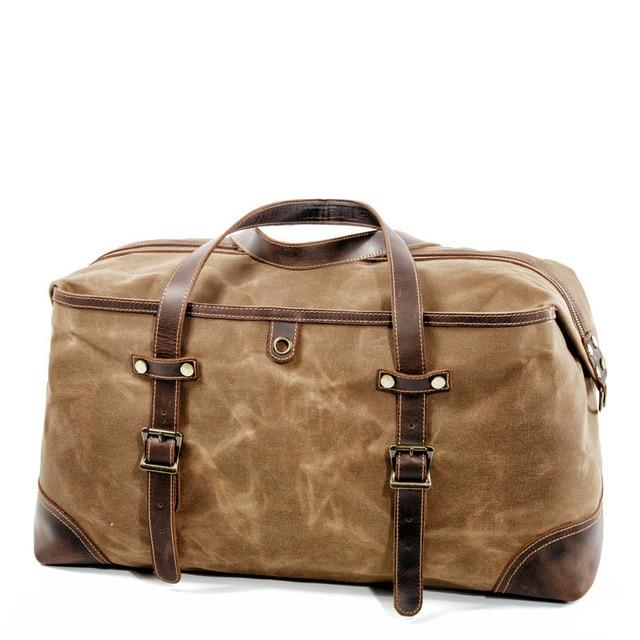 top goldman Veneto Gym Travel Bag Khaki