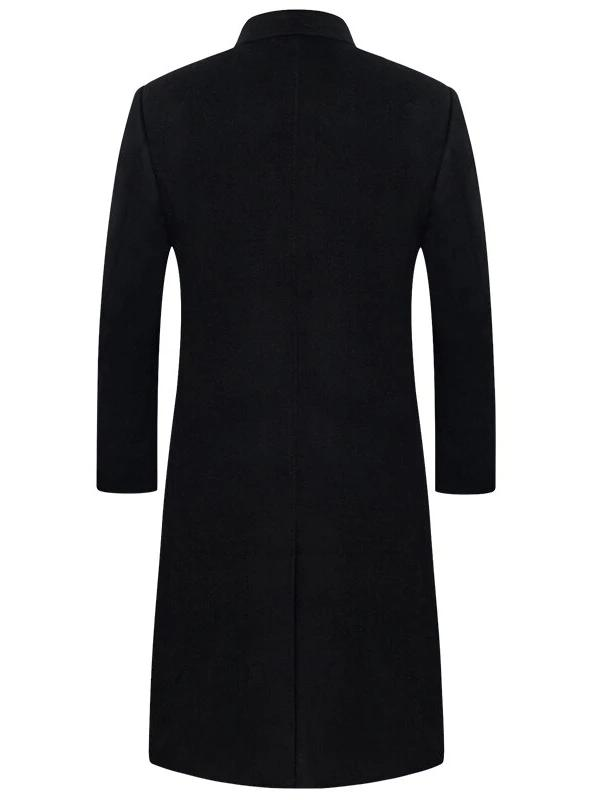 Vittoria Wool Coat overcoats for men Black S