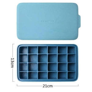 LifeProofLab - LifeProofLab™ Stackable Ice Cube Tray - Rectangular / Sky Blue