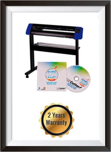 "25"" Vinyl Cutter with Stand with Cutter Software w/SCAL Pro, Make Signs (Mac & Windows) + 2 YEARS WARRANTY"