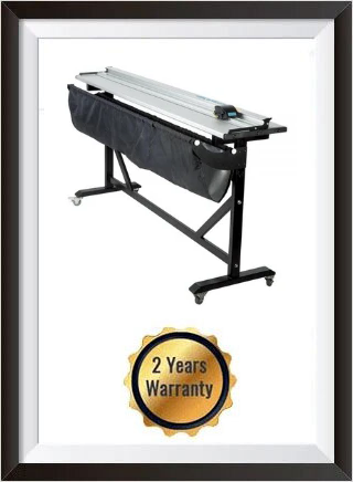 60Inch Aluminum Alloy Large Format Paper Trimmer Cutter with Support Stand + 2 YEARS WARRANTY