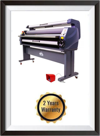 63in Wide Format Heat Assisted Cold Laminator, Enhanced Version + 2 YEARS WARRANTY