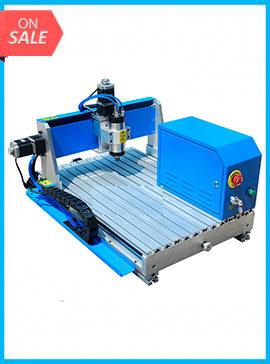 800W Air-cooled Spindle CNC Router Engraving Machine RS-4060 High Precision