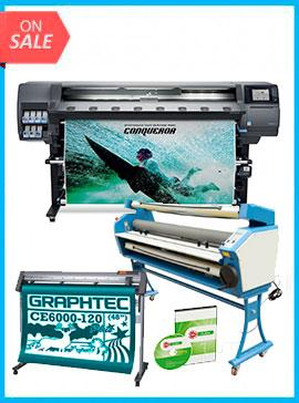 COMPLETE SOLUTION - Plotter HP Latex 365 64