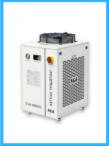 S&A 220V 60Hz CW-6200BN Industrial Water Chiller (for 200W Laser Diode and CO2 RF Laser , 600W CO2 Laser,400W Solid-state Laser, 600W-1000W Fiber Laser, 45KW CNC Spindle Cooling)