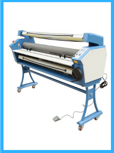 "Upgraded Ving 63"" Full-auto Low Temp. Wide Format Cold Laminator, with Heat Assisted"