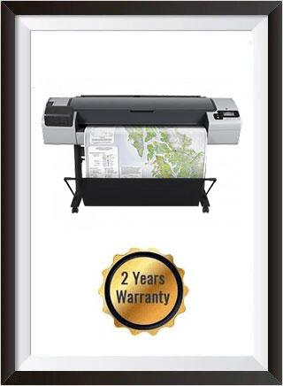 HP Designjet T1100 44-inch Printer - Recertified + 2 Years Warranty
