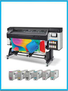 HP Latex 700 Printer + Ink Supplies