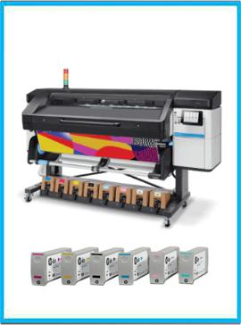HP Latex 800 Printer + Ink Supplies
