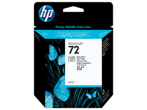 HP 72 Photo Black Ink Cartridge for DesignJet T610, T620, T770, T790, T1300, T1100, T1120, T1120, T1200 - C9397A