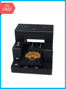 OYfame R2000 DTG Printer Automatic A3 Flatbed Printer 8Color For t shirt Clothes Jeans for dark light color Printer Fast Speed