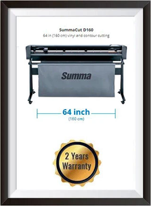 SummaCut D160 64 in (160 cm) vinyl and contour cutting - New + 2 YEARS WARRANTY