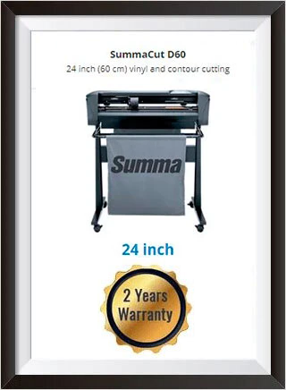 SummaCut D60 24 inch (60 cm) vinyl and contour cutting - New + 2 YEARS WARRANTY