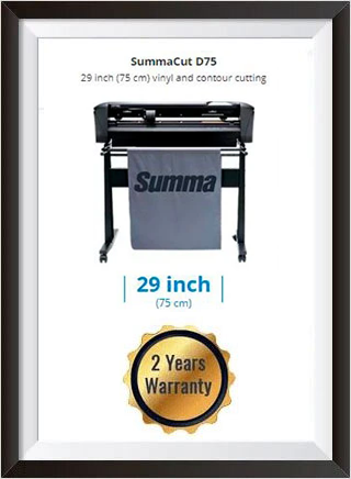 SummaCut D75 29 inch (75 cm) vinyl and contour cutting - New + 2 YEARS WARRANTY