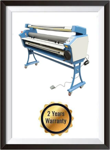 "Upgraded Ving 63"" Full-auto Low Temp. Wide Format Cold Laminator, with Heat Assisted + 2 YEARS WARRANTY"