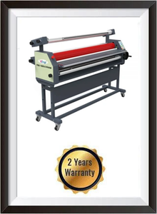 "Ving 63"" Full - auto Wide Format Cold Laminator, with Heat Assisted + 2 YEARS WARRANTY"