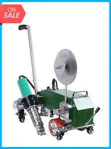 Automatic PVC tape hot air welding machine banner welder