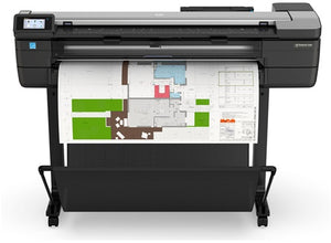 "HP Designjet T830 36"" Multifunction Printer Refurbished+ 4 Rolls of paper+ Extra black Ink 130 ML"