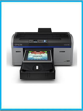 Epson SureColor F2100 White Edition Direct-to-Garment Printer