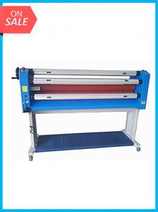 "GFP 363TH, 63"" Top Heat Laminator (Stand, Foot Switch & Rewind Included)"