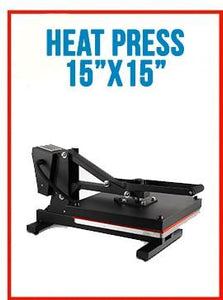 "15""X 15"" AUTO OPEN T-SHIRT HEAT PRESS TRANSFER"