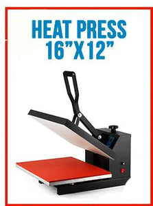 "HP3801 16""x20"" Heat Press Machine Digital Transfer Sublimation T-Shirt"