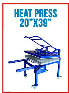 "20"" x 39"" (50 x 100cm)Large Format T-shirt Sublimation Heat Press Machine-by SEA"