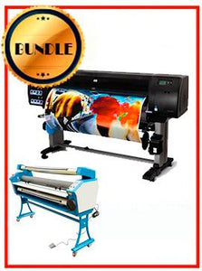 "BUNDLE - Plotter HP Z6200 42¨ Recertified (90 Days Warranty) + 55"" Full-Auto Low Temp. Cold Laminator, With Heat Assisted"