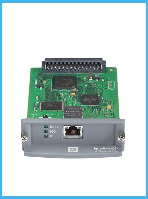 HP Jetdirect 625n internal ethernet print server - J7960G - Refurbished - (1 Year Warranty)