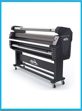 67in Wide Format Full-auto Roll-to-roll Electric Type Cold Laminator, with Heat Assisted