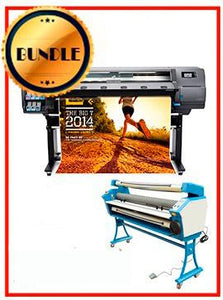 "BUNDLE - Plotter HP Latex 310 54¨ Recertified (90 Days Warranty) + 55"" Full-Auto Low Temp. Cold Laminator, With Heat Assisted"