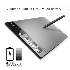 HUION Digital Graphics Drawing Tablet Writing Board Pad Wireless Art Signature