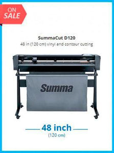 SummaCut D120 48 in (120 cm) vinyl and contour cutting - New