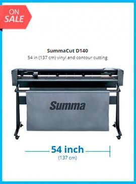 SummaCut D140 54 in (137 cm) vinyl and contour cutting - New