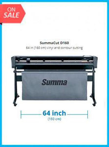 SummaCut D160 64 in (160 cm) vinyl and contour cutting - New