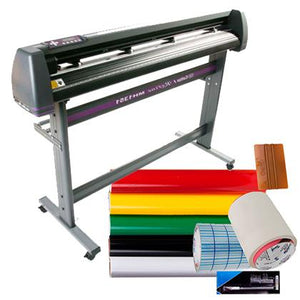 Vinyl Cutter Best Value Sign Decal Making Kit w/Design Cut Software