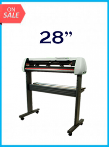 "28"" Vinyl Cutter with Stand with Cutter Software - New"