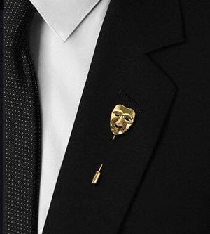 Mask Lapel Pin