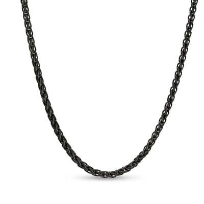 6mm & 3mm Wheat Neck Chain For Men