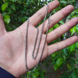 silver neck chain for men online in pakistan