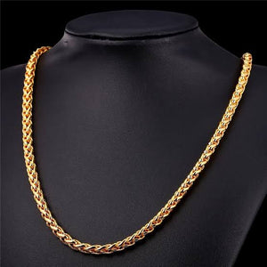 6mm wheat chain neck chain online in pakistan
